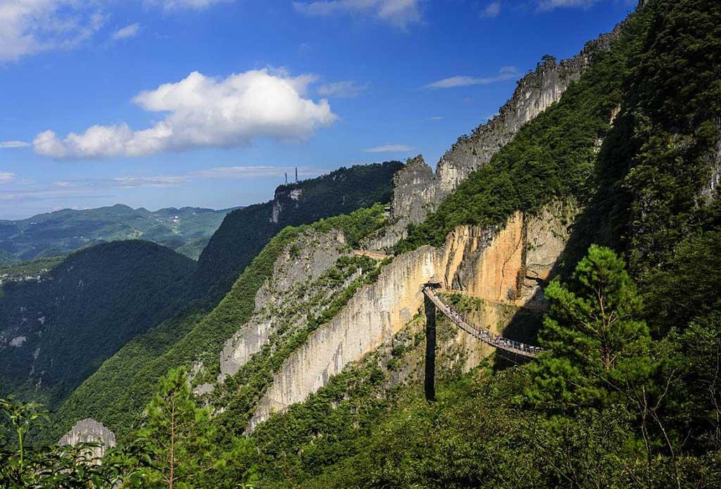 涪陵武陵山森林公园、武陵山大裂谷二日游