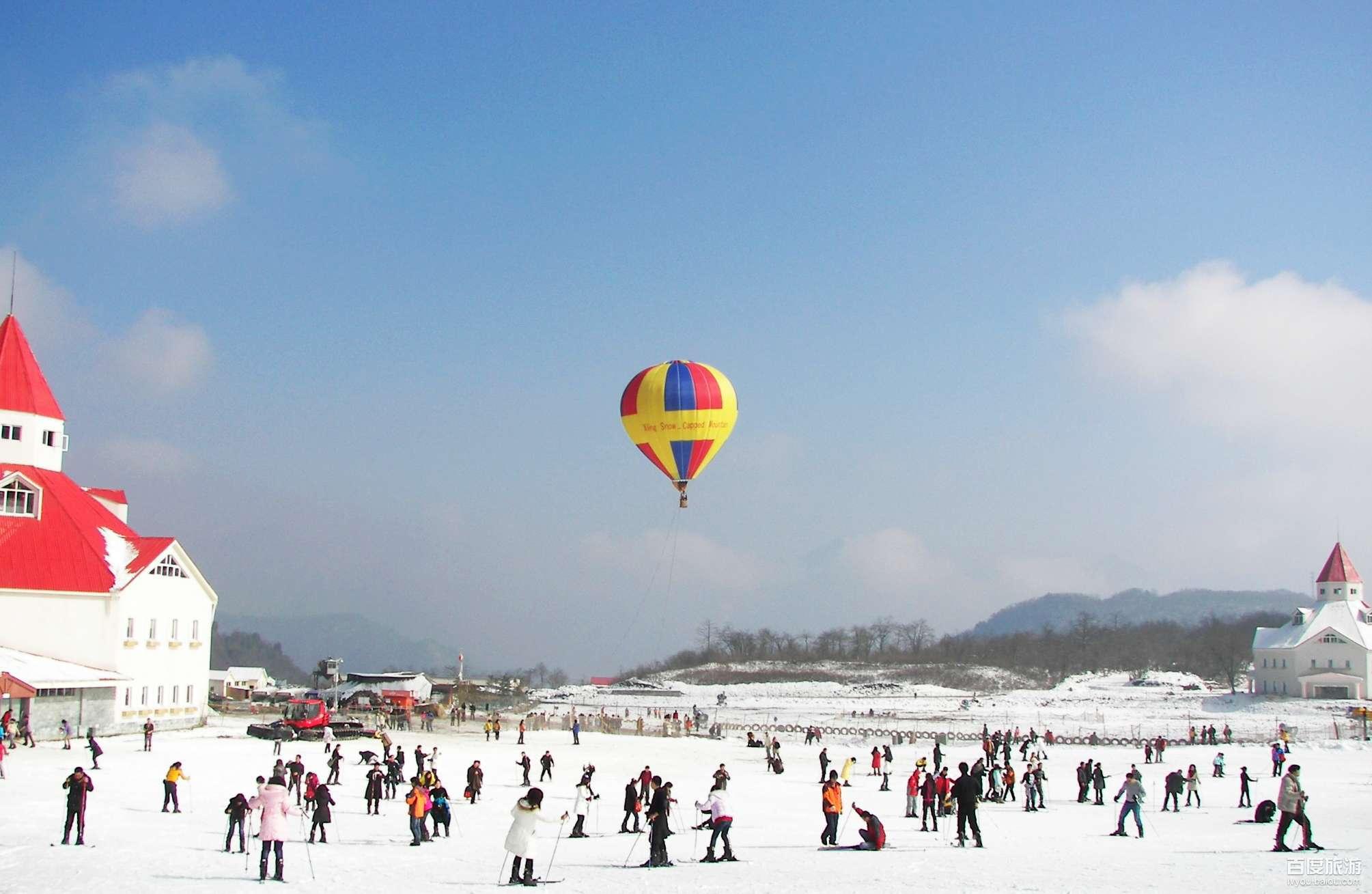 西岭雪山滑雪VIP一日游